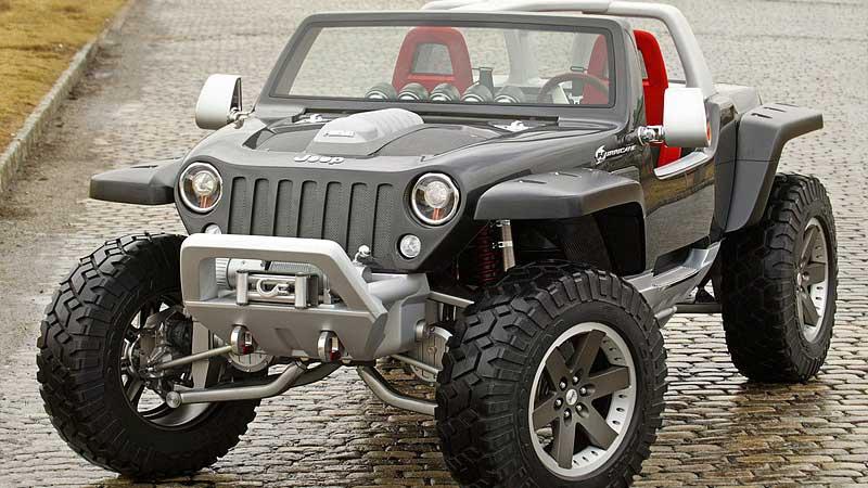Jeep Hurricane - Konceptbilar som aldrig togs i produktion