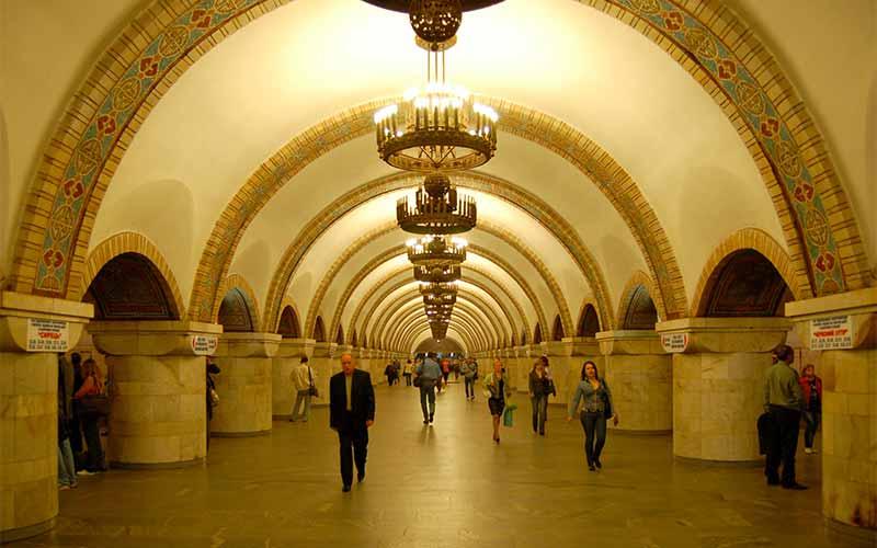 Världens vackraste tunnelbanestationer