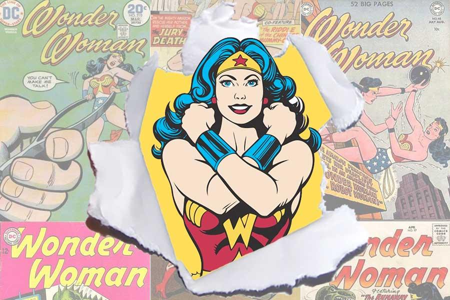 20 bevis på varför Wonder Woman är den snyggaste vintage-serien