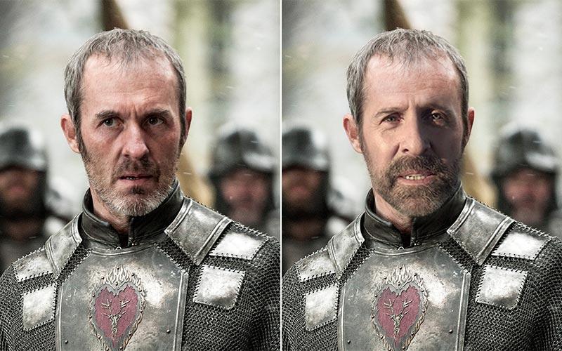 Om Game of Thrones var på svenska