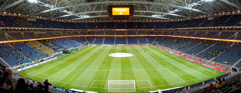 Sveriges 10 största fotbollsarenor
