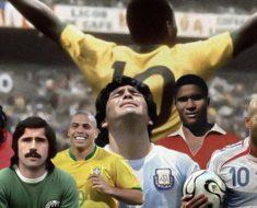 Världens bästa fotbollsspelare genom tiderna
