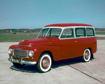 Tidernas mest klassiska Volvo-modeller | Volvo Duett