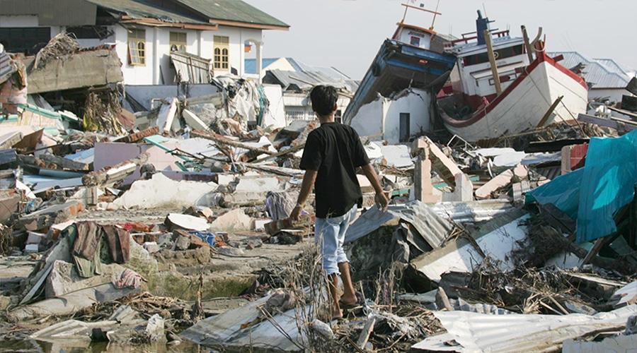 Jordbävningen/tsunamin i Indiska oceanen