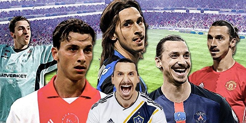 Vilka lag har zlatan spelat i