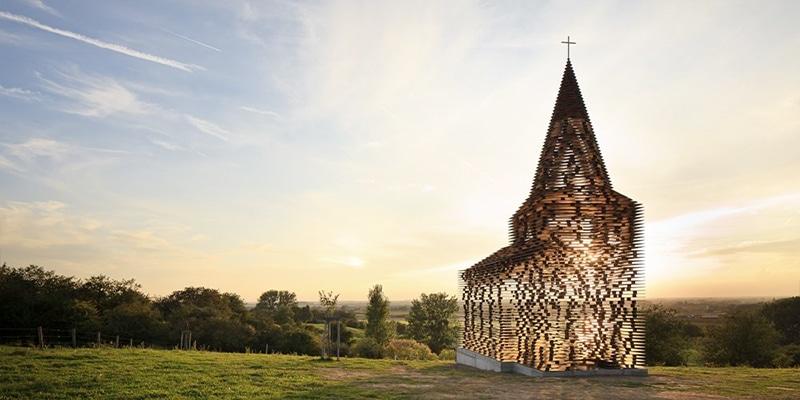 Världens mest udda kyrkor