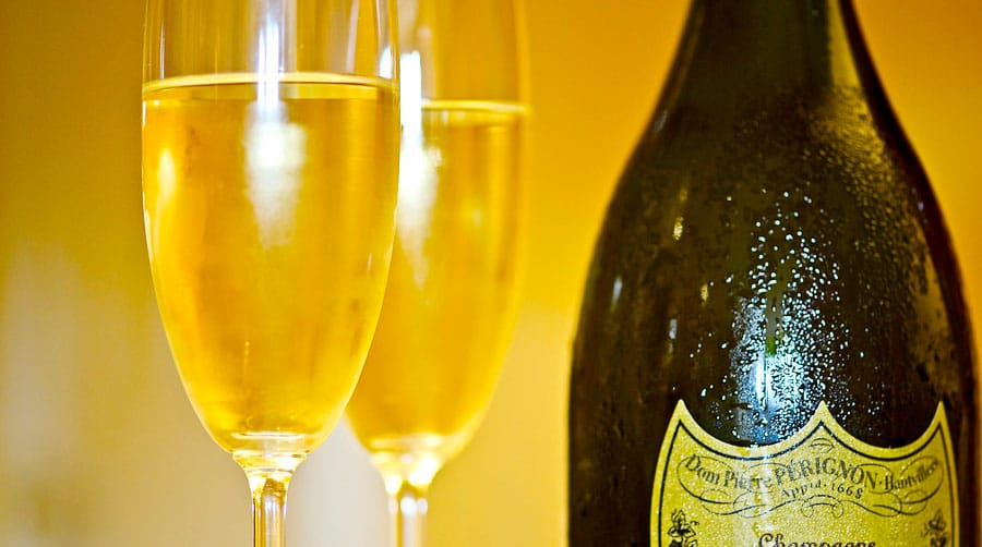 Dyraste champagne