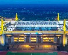 Europas största fotbollsarenor