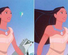 Disney-prinsessor med realistiska midjemått