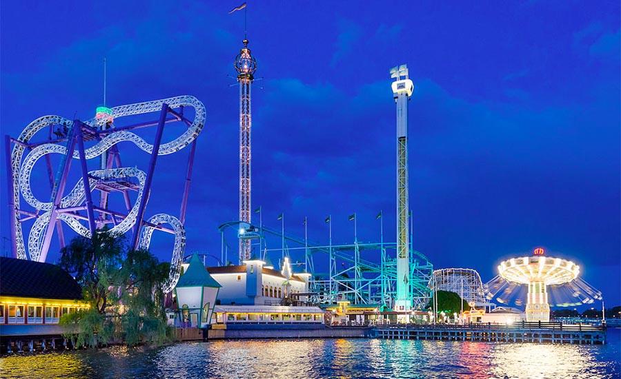 Sveriges bästa nöjesparker