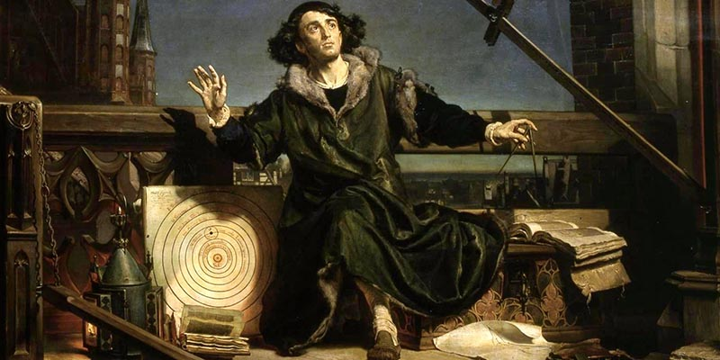 historiens viktigaste astronomer