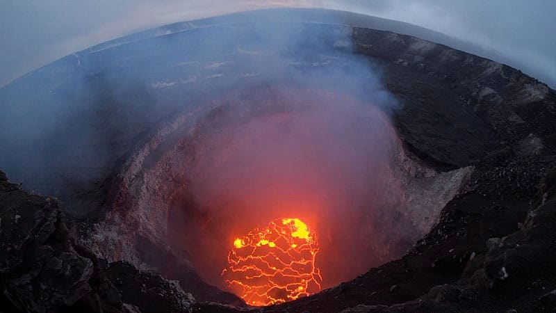 Häftigaste vulkaner