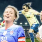 Tidernas bästa kvinnliga fotbollsspelare