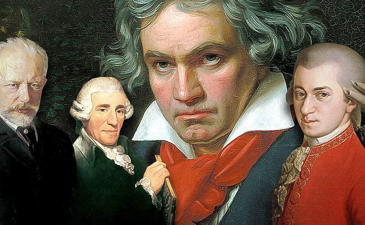 Tidernas bästa klassiska kompositörer
