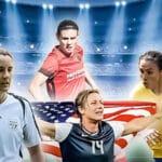 Världens bästa kvinnliga fotbollsspelare genom tiderna