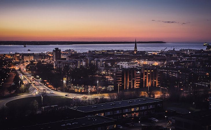 Vackra städer Sverige