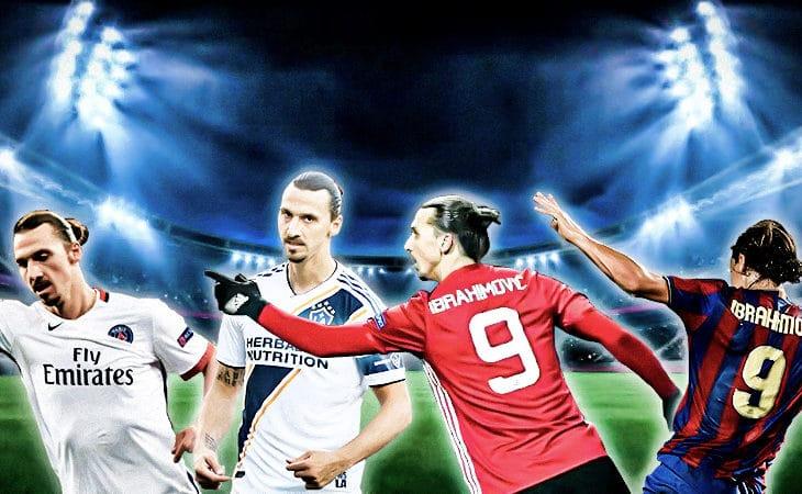 Ibras otroliga resa - alla Zlatans klubbar