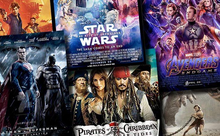 Tidernas dyraste filmer