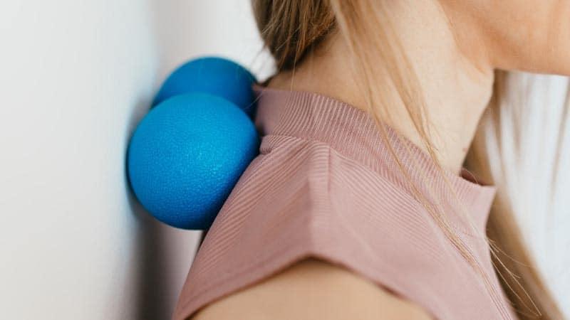 5 bästa övningarna med massageboll