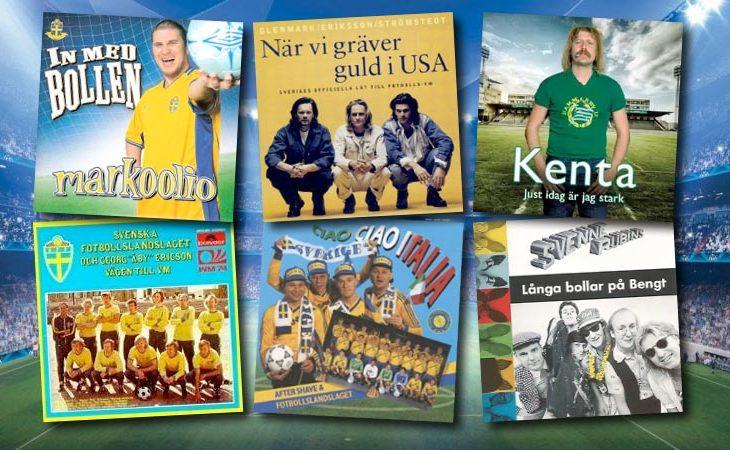 10 klassiska svenska fotbollslåtar